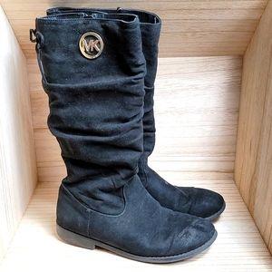 Michael Kors Kids Girls Black Booggie Boots
